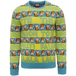 Textiel Heren Sweaters / Sweatshirts Christmas Shop CJ008 Geel/Groen