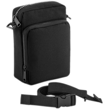 Tassen Schoudertassen met riem Bagbase BG241 Zwart
