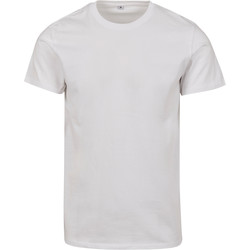 Textiel T-shirts korte mouwen Build Your Brand BY083 Wit