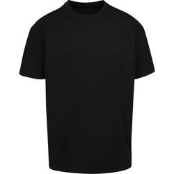 Textiel T-shirts korte mouwen Build Your Brand BY102 Zwart