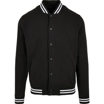 Textiel Heren Jacks / Blazers Build Your Brand BB004 Zwart/Wit