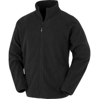 Textiel Heren Fleece Result Genuine Recycled R907X Zwart
