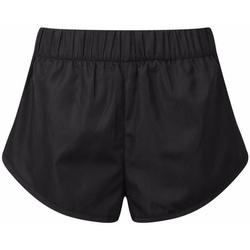 Textiel Dames Korte broeken / Bermuda's Tridri TR049 Zwart