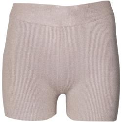 Textiel Dames Korte broeken / Bermuda's Brave Soul  Taupe
