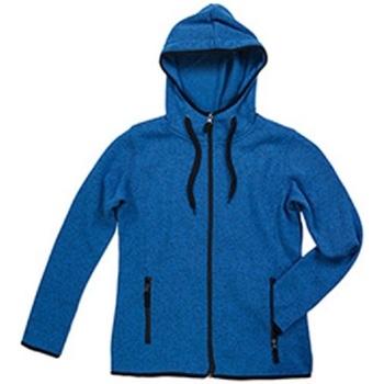 Textiel Dames Jacks / Blazers Stedman  Blauw gemêleerd