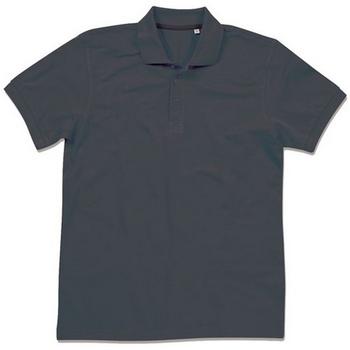 Textiel Heren Polo's korte mouwen Stedman Stars  Zwart Opaal