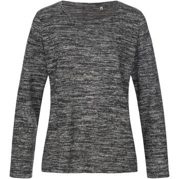 Textiel Dames Sweaters / Sweatshirts Stedman  Donkergrijs Melange
