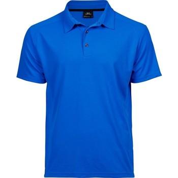 Textiel Heren Polo's korte mouwen Tee Jays TJ7200 Elektrisch Blauw