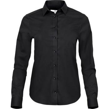 Textiel Dames Overhemden Tee Jays TJ4025 Zwart