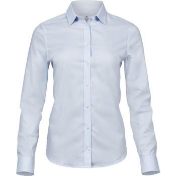 Textiel Dames Overhemden Tee Jays TJ4025 Lichtblauw