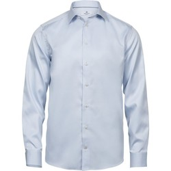 Textiel Heren Overhemden lange mouwen Tee Jays TJ4020 Lichtblauw
