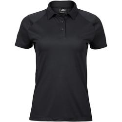 Textiel Dames Polo's korte mouwen Tee Jays TJ7201 Zwart