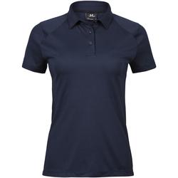 Textiel Dames Polo's korte mouwen Tee Jays TJ7201 Marineblauw