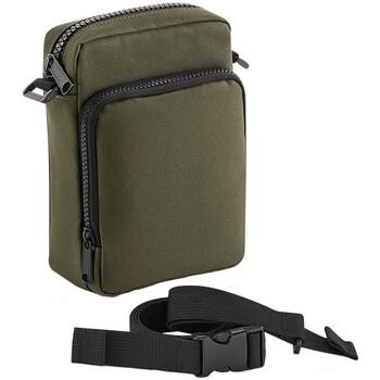 Tassen Jongens Schooltassen Bagbase BG241 Militair Groen