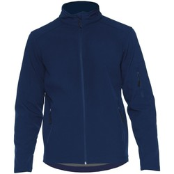 Textiel Jacks / Blazers Gildan SS800 Marine
