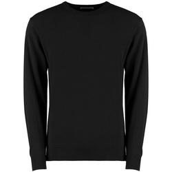 Textiel Heren Sweaters / Sweatshirts Kustom Kit KK253 Zwart