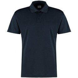 Textiel Heren Polo's korte mouwen Kustom Kit KK455 Marine