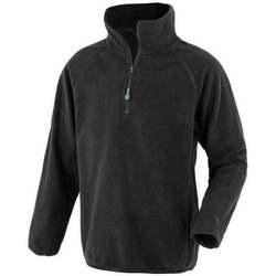 Textiel Heren Fleece Result Genuine Recycled R905J Zwart