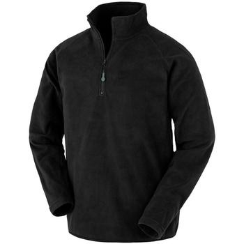 Textiel Heren Fleece Result Genuine Recycled R905X Zwart