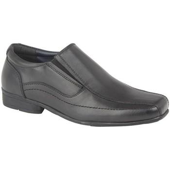 Schoenen Jongens Mocassins Roamers  Zwart