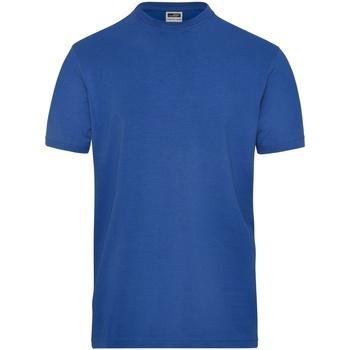 Textiel Heren T-shirts korte mouwen James And Nicholson  Koninklijk