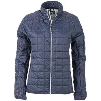 Textiel Dames Jacks / Blazers James And Nicholson  Marine / Zilver