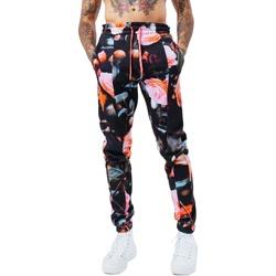Textiel Heren Trainingsbroeken Hype  Zwart/roze