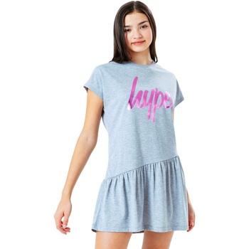 Textiel Meisjes Korte jurken Hype  GRIJS/PINK