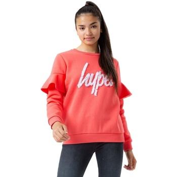 Textiel Kinderen Sweaters / Sweatshirts Hype  Koraal/Wit