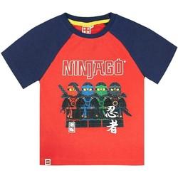 Textiel Jongens T-shirts korte mouwen Lego  Rood