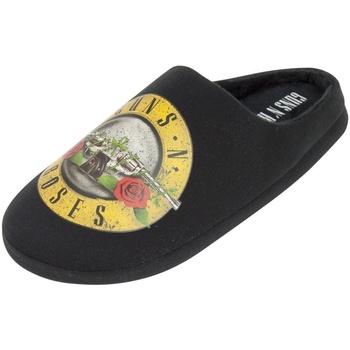 Schoenen Heren Sloffen Guns N Roses  Zwart