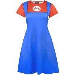 Textiel Dames Korte jurken Super Mario  Blauw/rood