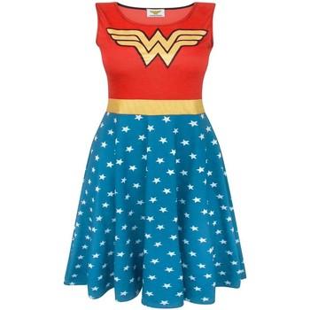 Textiel Dames Korte jurken Wonder Woman  Rood/Blauw