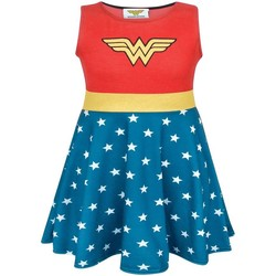 Textiel Meisjes Korte jurken Wonder Woman  Rood/Blauw