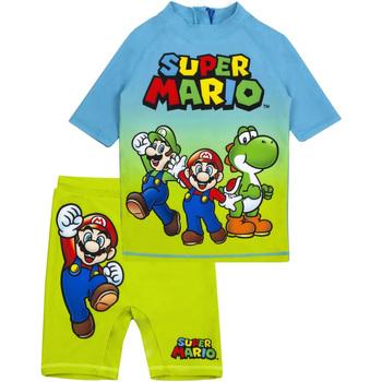 Textiel Jongens Setjes Super Mario  Blauw/Groen