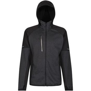 Textiel Fleece Regatta RG366 Zwart/Grijze Marl