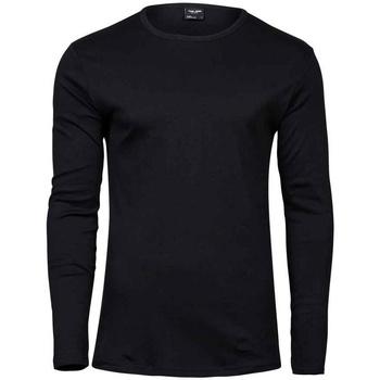 Textiel Heren T-shirts met lange mouwen Tee Jays T530 Zwart