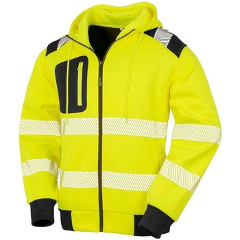 Textiel Sweaters / Sweatshirts Result Genuine Recycled RS503 Fluorescerend Geel