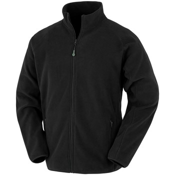 Textiel Heren Sweaters / Sweatshirts Result Genuine Recycled RS903 Zwart