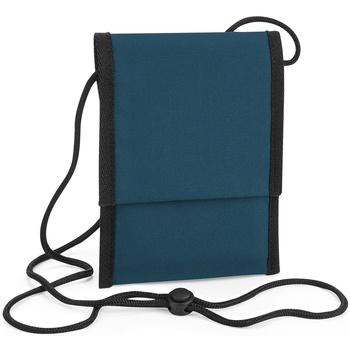 Tassen Jongens Schooltassen Bagbase BG283 Benzineblauw