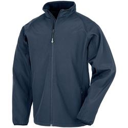 Textiel Heren Jacks / Blazers Result Genuine Recycled RS901M Marine