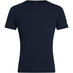 Textiel Heren T-shirts korte mouwen Canterbury CN226 Marine