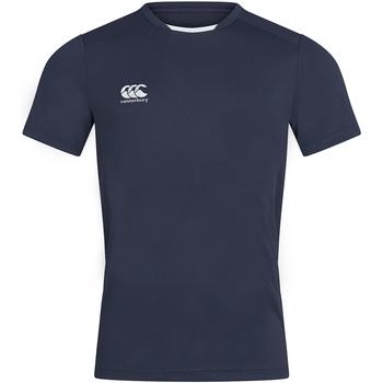 Textiel Heren T-shirts korte mouwen Canterbury CN260 Marine
