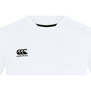 Textiel Heren T-shirts korte mouwen Canterbury CN260 Wit