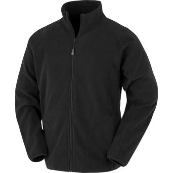 Textiel Heren Fleece Result Genuine Recycled RS907 Zwart