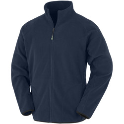 Textiel Heren Fleece Result Genuine Recycled RS907 Marine