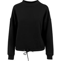 Textiel Dames Sweaters / Sweatshirts Build Your Brand BY058 Zwart