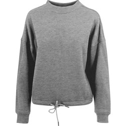 Textiel Dames Sweaters / Sweatshirts Build Your Brand BY058 Grijs
