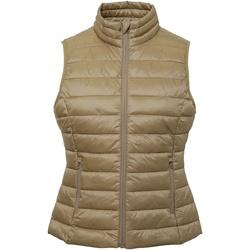 Textiel Dames Vesten / Cardigans 2786 TS31F Khaki