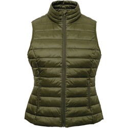 Textiel Dames Vesten / Cardigans 2786 TS31F Olijf